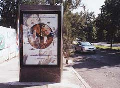 In mexico to promote osteoporosis bus stops all advertised the need for bone testing
